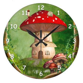 Dwarf Land Round Wall Clock