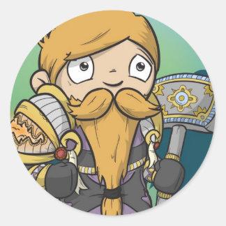 Dwarf Paladin - Sticker