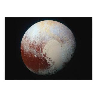 Dwarf Planet Pluto 13 Cm X 18 Cm Invitation Card