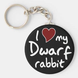 Dwarf rabbit key chains