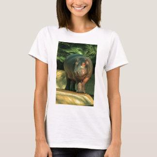 Dwarf river horse (Choeropsis liberiensis) T-Shirt