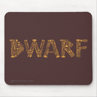 Dwarf Weapons Collage Mouse Pad