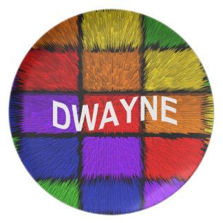 DWAYNE PLATE