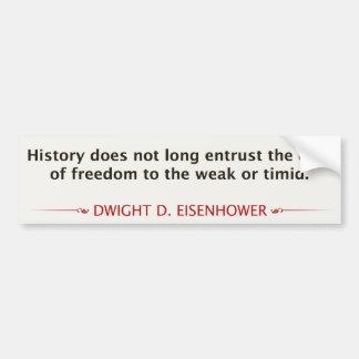 Dwight D. Eisenhower Bumper Sticker
