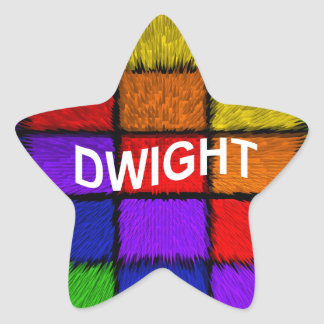 DWIGHT STAR STICKER