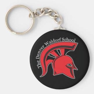 DWS Spartans Keychain (black)