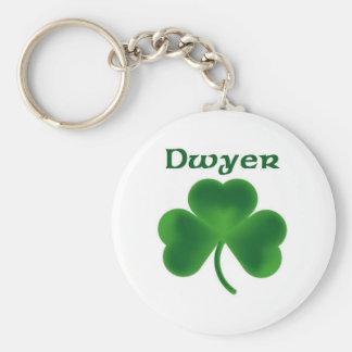 Dwyer Shamrock Key Ring