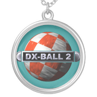 DXBALL2 Logo Round Pendant Necklace