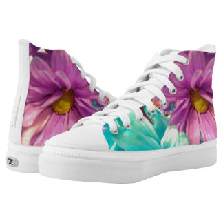 Dyed Daisies Printed Shoes