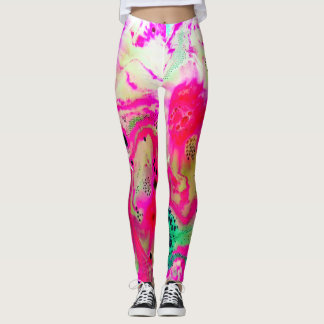 Dyed In The Whoa, Leggings
