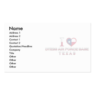 Dyess Air Force Base�, Texas Pack Of Standard Business Cards