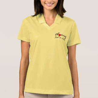 dying for a cure -Heart Disease Polo