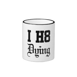 dying mugs
