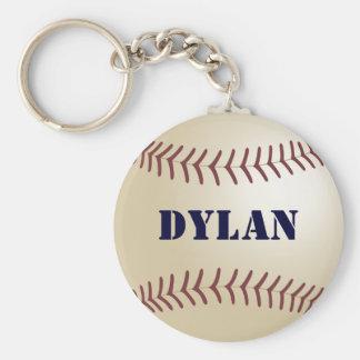 Dylan Baseball Keychain by 369MyName
