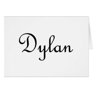 Dylan Card
