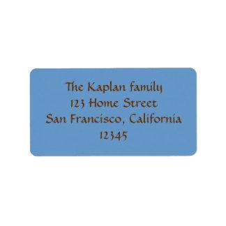 Dylan Max Return Address Envelope Seal Address Label