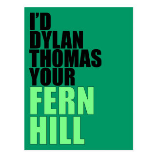 Dylan Thomas, Fern Hill Post Cards