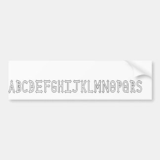 Dymond Speers Outline Bumper Sticker