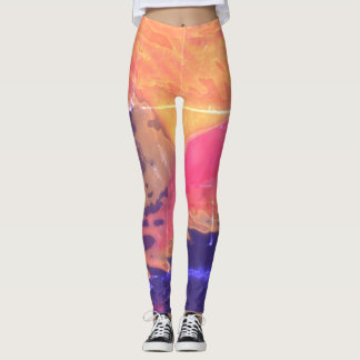 Dynamic Abstract 2 - Leggings