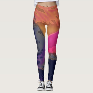 Dynamic Abstract - Leggings