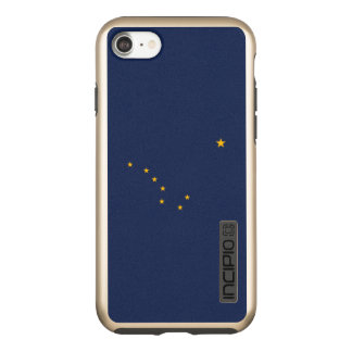 Dynamic Alaska State Flag Graphic on a Incipio DualPro Shine iPhone 8/7 Case
