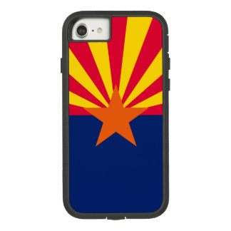 Dynamic Arizona State Flag Graphic on a Case-Mate Tough Extreme iPhone 8/7 Case