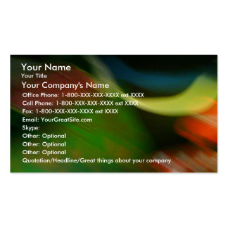 Dynamic - business card template