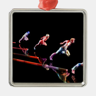 Dynamic Business Team and Sales Organization Metal Ornament