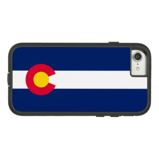 Dynamic Colorado State Flag Graphic on a Case-Mate Tough Extreme iPhone 8/7 Case