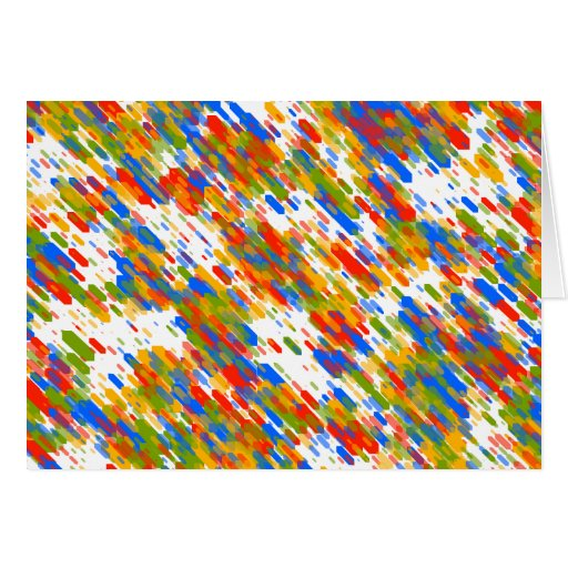 Dynamic Colors Motion. Colors Chaos. Abstract Art Card
