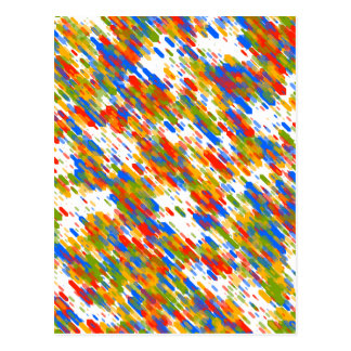 Dynamic Colors Motion. Colors Chaos. Abstract Art Postcard