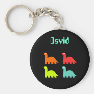 Dynamic Dinos Name Keychain David