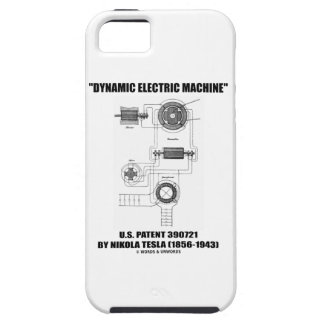 Dynamic Electric Machine US Patent by Nikola Tesla iPhone 5 Cover