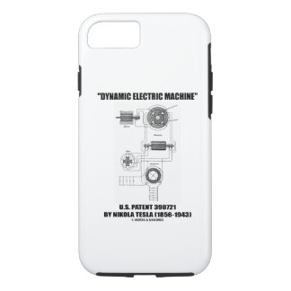 Dynamic Electric Machine US Patent by Nikola Tesla iPhone 7 Case