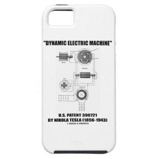 Dynamic Electric Machine US Patent by Nikola Tesla Tough iPhone 5 Case