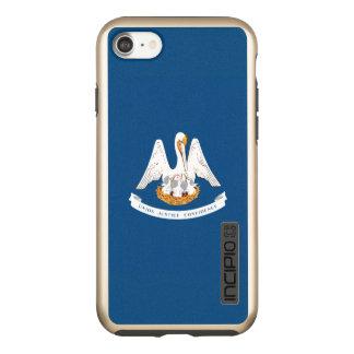 Dynamic Louisiana State Flag Graphic on a Incipio DualPro Shine iPhone 8/7 Case