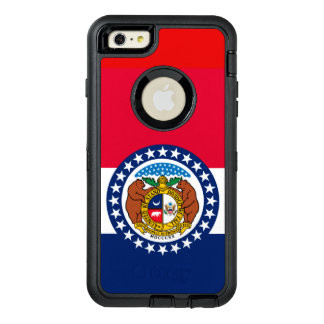Dynamic Missouri State Flag Graphic on a OtterBox Defender iPhone Case