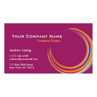 Dynamic modern business cards