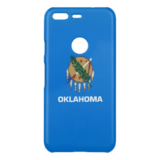 Dynamic Oklahoma State Flag Graphic on a Uncommon Google Pixel Case