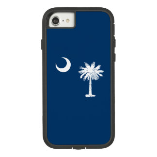 Dynamic South Carolina State Flag Graphic on a Case-Mate Tough Extreme iPhone 8/7 Case