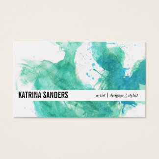 Dynamic   Spatter IV Business Card