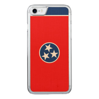 Dynamic Tennessee State Flag Graphic on a Carved iPhone 8/7 Case