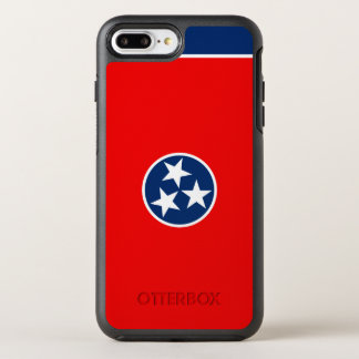 Dynamic Tennessee State Flag Graphic on a OtterBox Symmetry iPhone 8 Plus/7 Plus Case