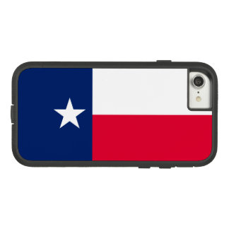 Dynamic Texas State Flag Graphic on a Case-Mate Tough Extreme iPhone 8/7 Case