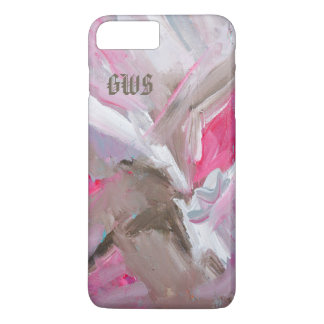 Dynamics in Rose Painterly Abstract Phone Case