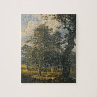 Dyrehaven - J.C. Dahl 8x10 Jigsaw Puzzle