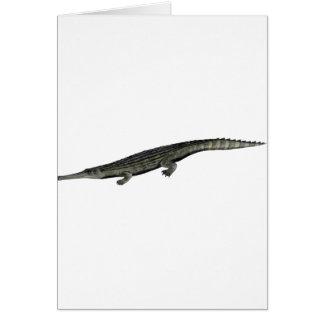 Dyrosaurus_BW Card
