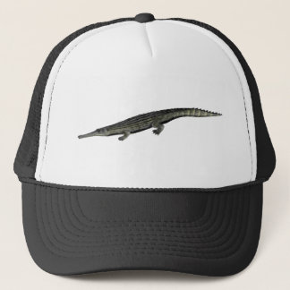 Dyrosaurus_BW Trucker Hat