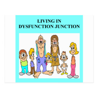 dysfunction hunction postcard