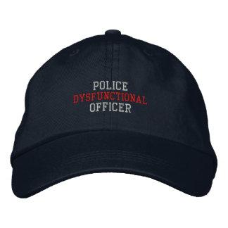 Dysfunctional Police Officer Baseball Cap